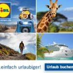 Happy Birthday: TOP-Reise Angebote von Lidl Reisen, Reiserücktrittsversicherung KOSTENLOS