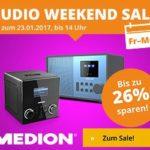 Medion Audio Weekend Sale mit bis zu 26 Prozent Rabatt