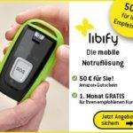 Notrufsystem libify für Oma & Opa: Kunden werben, Prämie kassieren!