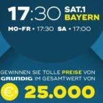 Sat.1 Bayern: Grundig-Preise im Gesamtwert von 25.000 EUR zu gewinnen