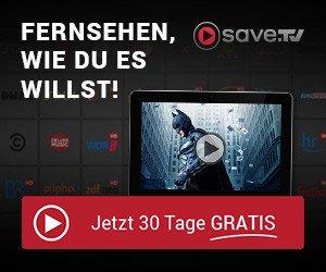 Internet-Videorekorder Save.TV testen: 4 Wochen lang KOSTENLOS alle Funktionen testen, inkl. Schnittservice für unerwünschte Werbung.