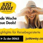 Traumhaft günstig Reisen mit justaway.com