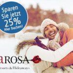 25 Prozent Rabatt auf Ihre Buchung bei A-ROSA-Resorts