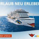 AIDA: Wochenendeinkauf Kreuzfahrt mit Frühbucher-Rabatt