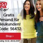 Bonprix: Einkaufs-Gutscheine gewinnen