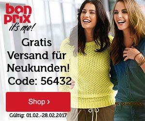 Bonprix verlost 3 tolle Einkaufs-Gutscheine, mit denen Sie Ihren Kleiderschrank für die kommende Sommer-Saison auf den aktuellen Stand bringen können.