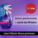 for me: 20 Gillette Venus Swirl Rasierer gewinnen