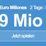 49 Mio EUR-Jackpot knacken mit 6 EUR Aktionsrabatt bei Euro Millones!
