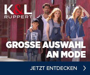 Im K&L Ruppert Sale können Sie auch jetzt wieder Mode mit sagenhaften Rabatten einkaufen! Derzeit erhalten Sie Mode-Artikel besonders günstig.