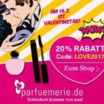 20 Prozent Valentins-Rabatt bei parfumerie.de