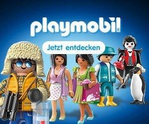 Diesen Februar erhalten Sie im Onlineshop von PLAYMOBIL 10 Prozent Rabatt auf ausgewählte Figuren. Entdecken Sie jetzt das Angebot!