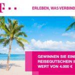 Telekom: Reise-Gutschein im Wert von 4.000 EUR gewinnen