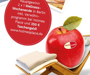Machen Sie jetzt beim aktuellen Honey Crunch Gewinnspiel mit und gewinnen Sie ein attraktives Welness-Wochenende in Berlin!