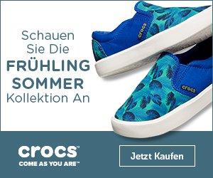 Jetzt den aktuellen Crocs Gutschein entdecken und bei Ihrem nächsten Einkauf im Online-Shop von Crocs so richtig sparen - der Rabatt kann sich sehen lassen!