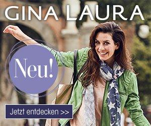 Beim Jubiläums-Gewinnspiel von Gina Laura können Sie u. a. ein E-Bike und Gina Laura Shopping-Gutscheine gewinnen. Jetzt mitmachen und gewinnen!