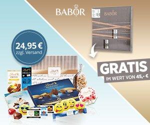 Versüßen Sie Ihre Mitgliedschaft im Lindt Chocoladen Club mit einem exklusiven Geschenk: Sie erhalten ein BABOR Celebration-Set im Wert von 45 EUR KOSTENLOS