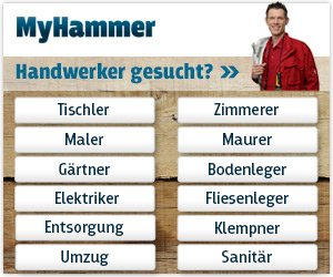 Bei MyHammer finden Sie DEN Handwerker für Ihren Auftrag. Wählen Sie aus allen Angeboten den besten und günstigsten aus - und sparen Sie kräftig.