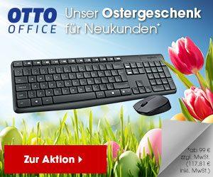 Otto Office verlost pünktlich zu Ostern tolle Technik-Preise beim aktuellen Ostergewinnspiel. Freuen Sie sich auf iPad, Beamer, Drucker und vieles mehr.