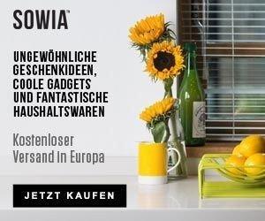 Mit dem Rabatt-Gutschein von Sowaswillichauch.de ungewöhnliche Geschenkideen erhalten und beim Kauf von Geschenken, Gadgets und Nerd Stuff Geld sparen!