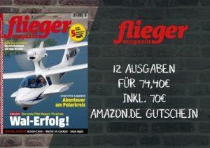 Das beliebte fliegermagazin gibt es jetzt für nur 4,40 EUR statt 74,40 EUR im Jahresabo Dank eines 70 EUR Amazon-Gutscheins.