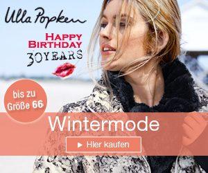 Ulla Popken verlost unter allen Gewinnspielteilnehmern 3 Ulla Popken Geschenk-Gutscheine im Wert von je 100 EUR sowie10 mymuesli Schoko Geschenk-Sets.