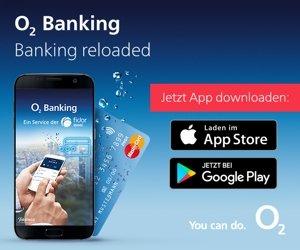 Sie erhalten mit der o2 Banking App ein Konto bei einer deutschen Bank und dürfen sich freuen über kostenlose Kontoführung (ab einem monatlichen Kartenumsatz von 100 EUR, ansonsten 0,99 EUR/Monat), keine Kosten für Zahlungsein- und Ausgänge sowie kostenlose Bergeldabhebungen weltweit mit der Mastercard. Zudem lockt o2 mit zusätzlichem Datenvolumen.