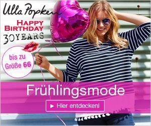 Jetzt den aktuellen Ulla Popken Gutschein einlösen und beim Einkauf von Damen-Mode in großen Größen ebenso großartig sparen!
