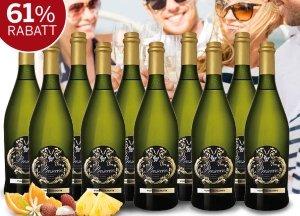 Prosecco-Paket jetzt dank ebrosia Gutschein satte 61% günstiger. Zahlen Sie für 10 Flaschen Prosecco Frizzante Silvio DOC nur 47,99 statt 124,90 EUR.