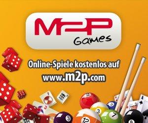 KOSTENLOSE Online-Games finden Sie bei M2P, und beim Gewinnspiel der Woche werden zwei Amazon-Gutscheine im Wert von je 25 EUR verlost. Mitmachen!