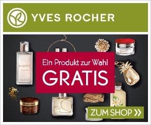 Sichern Sie sich jetzt bei Yves Rocher ein Produkt gratis! Das erste Produkt in Ihrem Einkaufswagen gibt es geschenkt, ab einem MBW von 39 EUR gibt es sogar noch ein Geschenk!