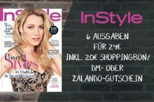 Lesen Sie 6 Ausgaben des Fashionmagazins InStyle im günstigen InStyle Abo für nur 4 EUR statt 24 EUR. Greifen Sie jetzt beim günstigen Probeabo zu.