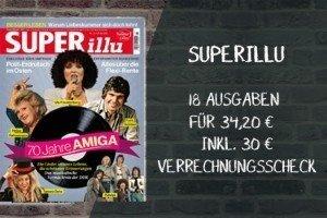 """Lesen Sie 18 Ausgaben des Boulevardmagazins SUPERillu zum Top-Preis von nur 4,20 EUR insgesamt! Die """"Lieferung frei Haus""""ist natürlich im Preis inbegriffen."""