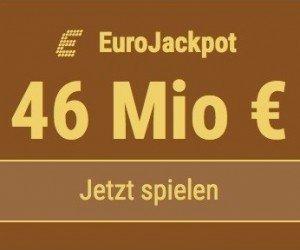 Im EuroJackpot werden 29 Millionen EUR ausgespielt. Bei Tipp24 zahlen Neukunden nur 2,50 EUR statt 12,50 EUR für ihren ersten Tippschein. JETZT MITMACHEN!