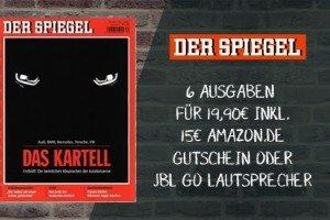 6 Ausgaben: SPIEGEL-Abo mit bis zu 8 EUR GEWINN