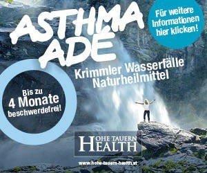"""Erleben Sie jetzt mit derGesundheitsinitiative """"Hohe Tauern Health"""" massgeschneiderten Gesundheitsurlaub für Allergiker im Nationalpark Hohe Tauern!"""