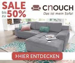 Jetzt den aktuellen cnouch Gutscheincode entdecken und beim Kauf von Möbeln bares Geld sparen