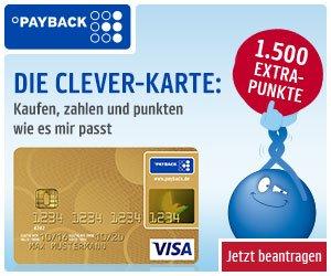 "Kostenlose Kreditkarte""Payback Visa Flex"""