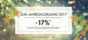 Den aktuellen Atelier Goldener Schnitt Rabatt nutzen und ganze 17% Rabatt auf Ihre Bestellung erhalten - und das ganz ohne Mindestbestellwert!