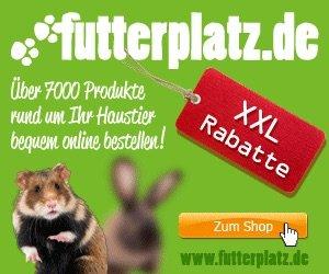 Bei Futterplatz.de erhalten Sie Heimtierfutter und Heimtierzubehör. HIER erhalten Sie alle aktuellen Angebote bzw. Rabatt und Gutschein-Codes!