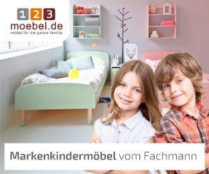 123moebel.de hat sich auf qualitativ hochwertige Baby- und Kindermöbel spezialisiert.