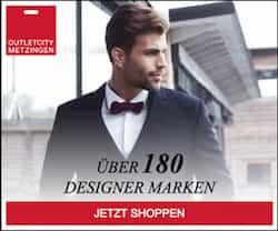 more photos f2ce7 6b7d3 Outletcity Metzingen: Gutscheine für Designermode im Oktober ...