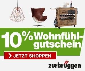 Zurbrüggen ist eines der beliebtesten Möbelhäuser Deutschlands. Mit seinen 5 Einrichtungszentren und seinem großen Onlineshop wird Ihnen stets bestes Wohnambiente auf höchstem Niveau geboten.