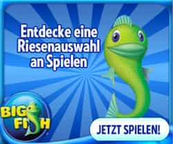 Big Fish Games bietet jeden Tag neue Spiele für PC, Handy, Tablet, iPad, iPhone und Nintendo. Kostenlos.de bietet aktuelle Aktionen und Gutschein-Codes! HIER KLICKEN UND SPAREN!