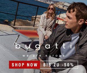 Nur jetzt und für kurze Zeit: bugatti fashion SALE - hier erhalten Sie Kleidung der Top-Marke zu fairen Angebotspreisen. Sparen Sie bis zu 50%!