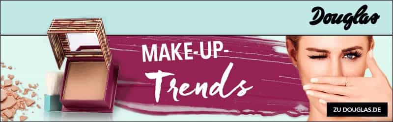 Douglas Make-up Trends Gutschein Code Rabatt