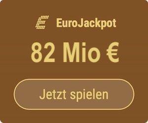 Freitag den EuroJackpot knacken und 82 Mio. EUR gewinnen: Tipp24-Neukunden erhalten über uns 5 Tippfelder GESCHENKT = 10 EUR Rabatt!
