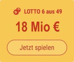Mittwoch den Lotto 6 aus 49-Jackpot knacken und 4 Mio. EUR gewinnen: Tipp24-Neukunden erhalten über uns 5 Tippfelder GESCHENKT = 5,50 EUR Rabatt!