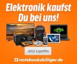 Mit dem notebooksbilliger.de Gutschein günstiger einkaufen! Jetzt im aktuellen Angebot von notebooksbilliger.de stöbern - lohnende Aktionen warten auf Sie!