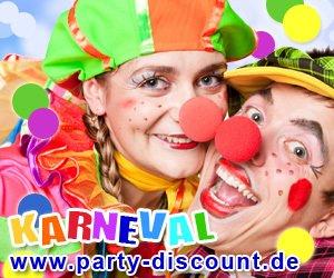 Entdecken Sie hier die aktuellen Party-Discount Gutschein Codes und Aktionen - shoppen Sie Karnevals Kostüme, Party-Zubehör und coole Accessoires zum kleinen Preis!
