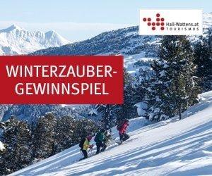 Auch 2017 warten beim Hall-Wattens Winterzauber-Gewinnspiel tolle Preise auf alle Fans von Winterurlauben und mehr: Unter anderem eine Urlaubsreise!